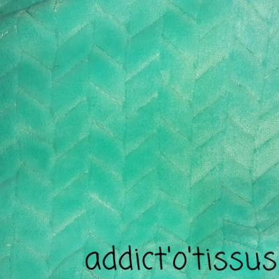 Minky tricot menthe