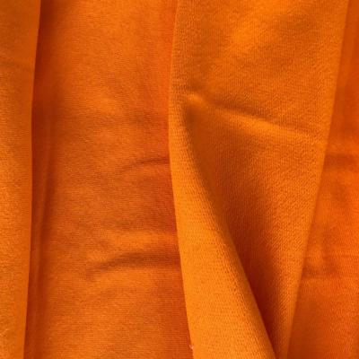 sweat bouclette orange