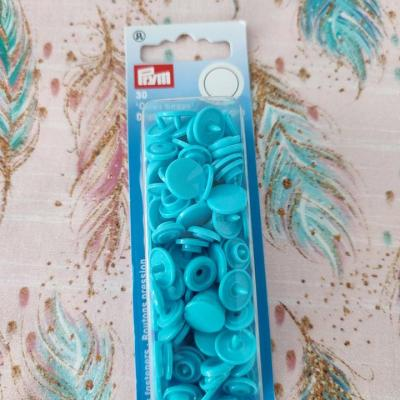 30 Color snaps prym turquoise